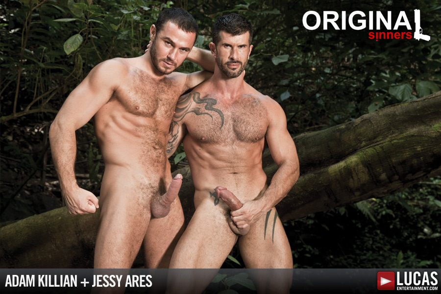 Adam Killian Swallows Jessy Ares