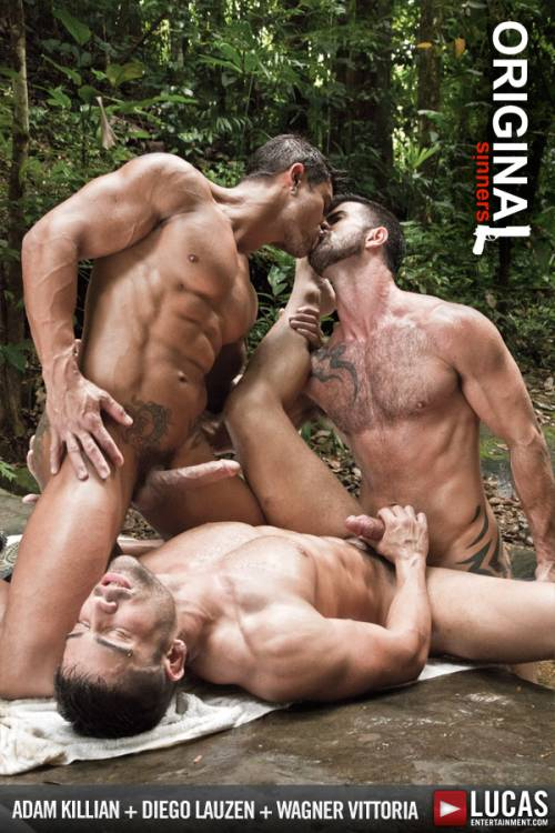 Adam and Wagner Double-Penetrate Diego - Gay Movies - Lucas Entertainment