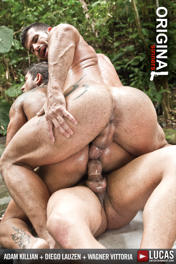 Adam and Wagner Double-Penetrate Diego