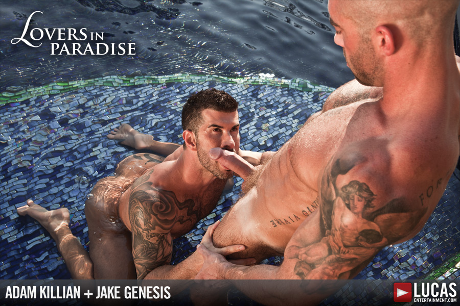 Adam Killian Romances Jake Genesis - Gay Movies - Lucas Entertainment