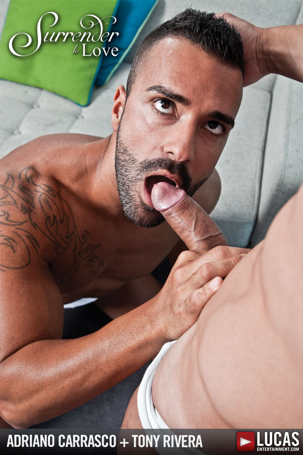 Lucas Exclusive Adriano Carrasco and Tony Rivera Have Passionate Sex - Gay Movies - Lucas Entertainment