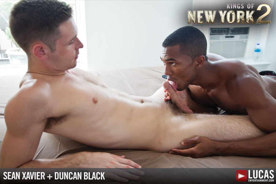 Duncan Black Prepares Himself to Take Sean Xavier