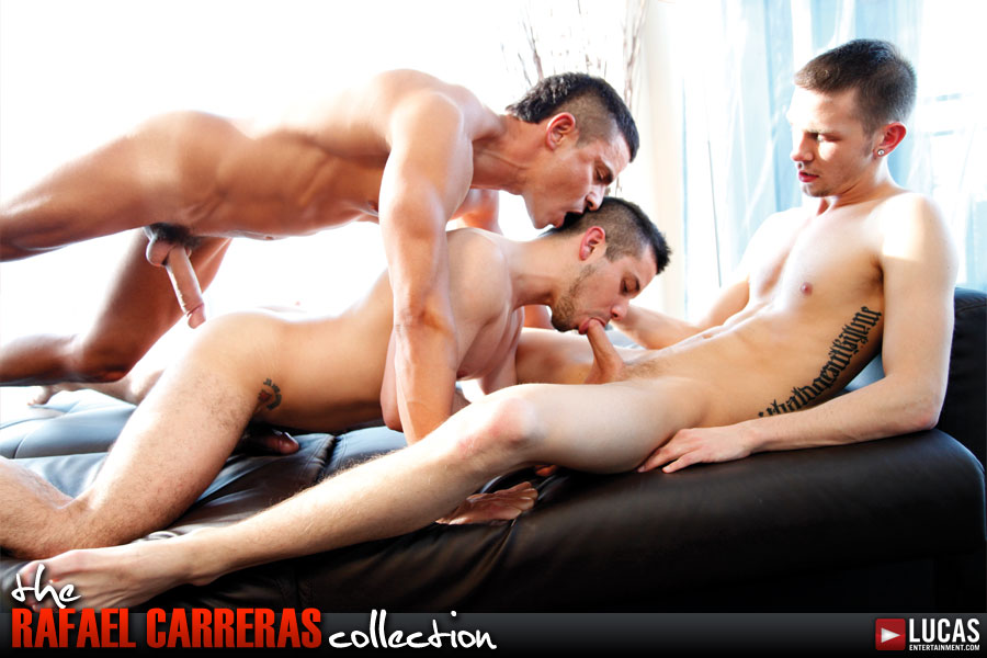 Rafael Carreras Stars in an Uncut Canadian Threesome - Gay Movies - Lucas Entertainment