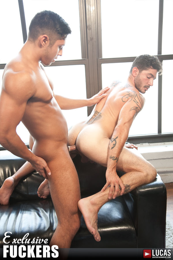 Seth Treston and Johnny Hazzard Have Some Versatile Fun - Gay Movies - Lucas Entertainment