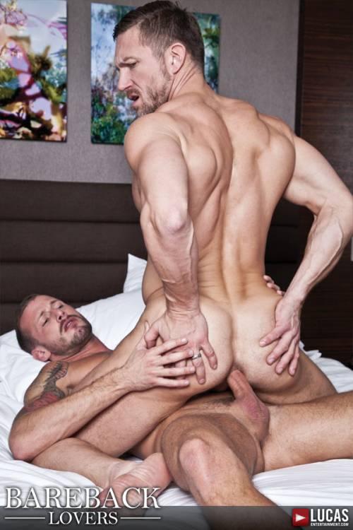 Deep Bareback Fucking Featuring Tomas Brand and Logan Rogue - Gay Movies - Lucas Entertainment