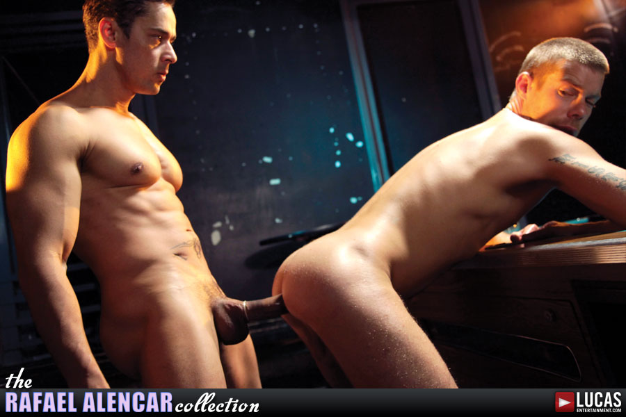 Rafael Alencar Slides Every Uncut Inch into Braxton Bond - Gay Movies - Lucas Entertainment