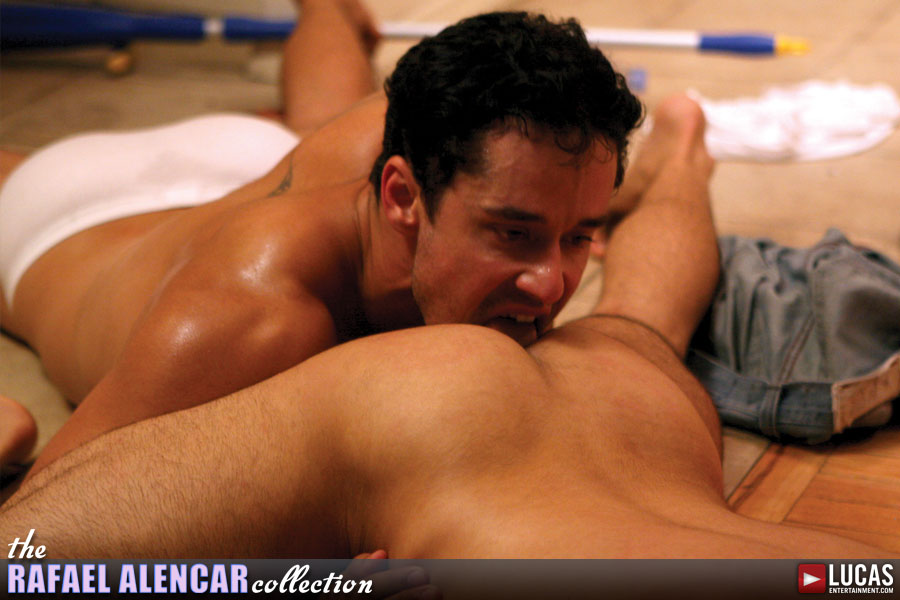 Matan Shalev Opens Up His Hole For Rafael Alencar's Legendary Cock - Gay Movies - Lucas Entertainment