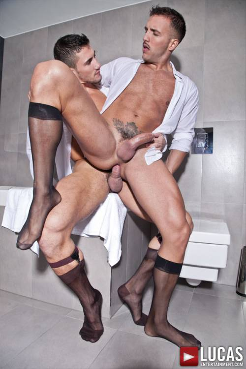 Marco Rubi Fucks His Boss Donato Reyes in a Private Suite - Gay Movies - Lucas Entertainment