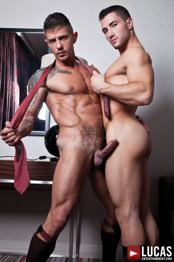 Goran Has an Steamy After Hours Affair with Marco Rubi - Gay Movies - Lucas Entertainment