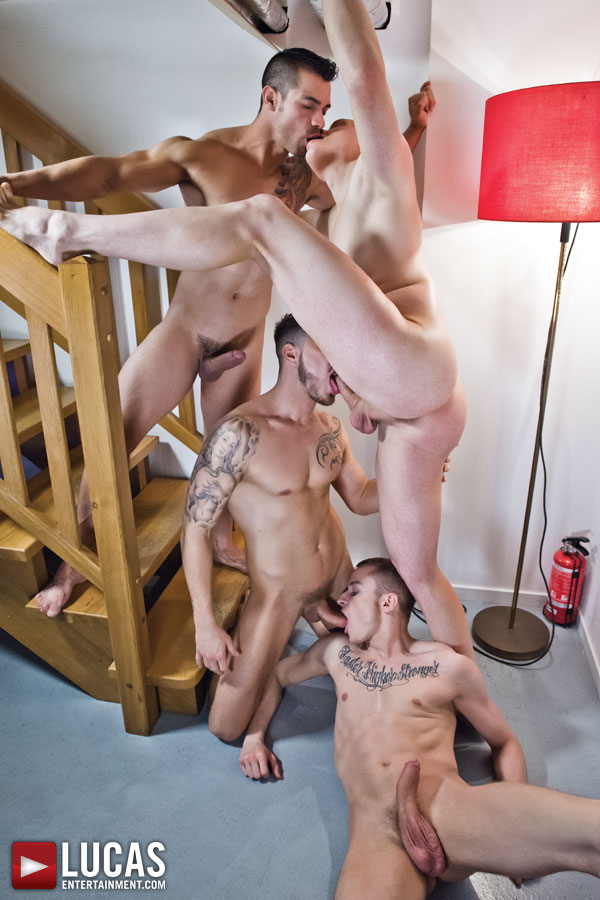 Fabio Lopez Fucks Around Three Different Ways - Gay Movies - Lucas Entertainment