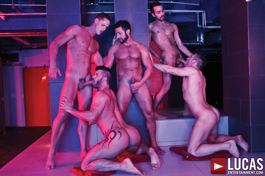 Adam Killian Gay Bareback Sex Orgy-5533