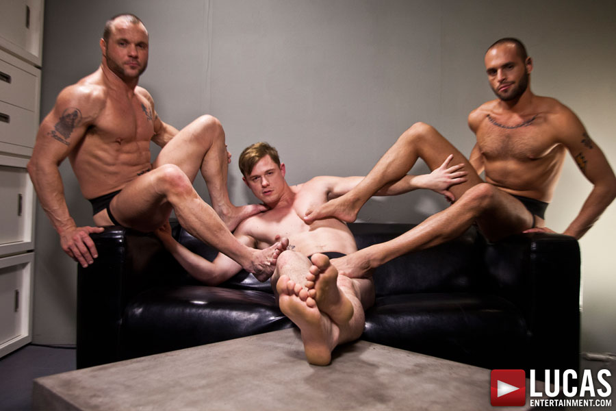 Foot Fuckers - Gay Movies - Lucas Entertainment