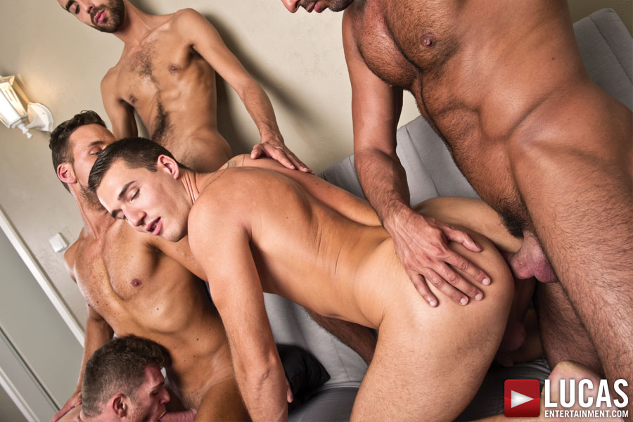 Logan has a sex orgy