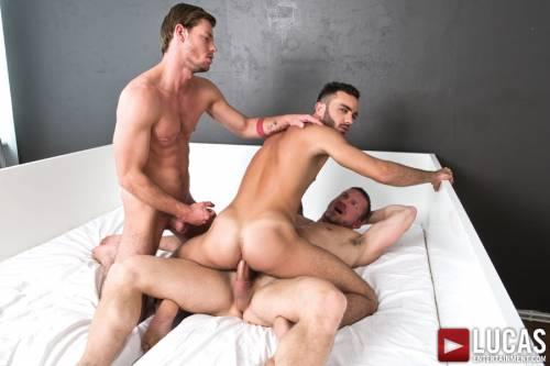 Tomas Brand and Fernando Torres Host a Raw Sex Orgy - Gay Movies - Lucas Entertainment