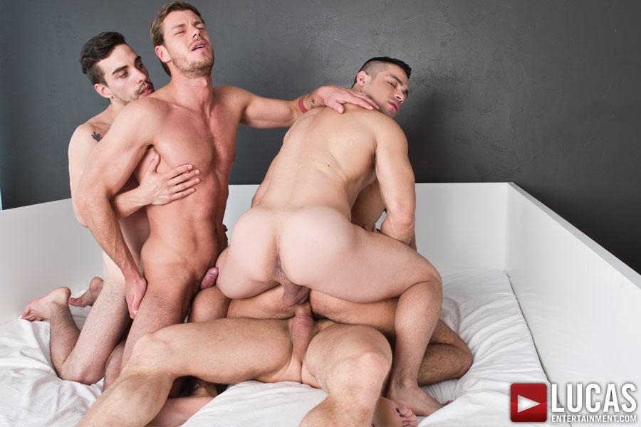 Xnxx gay orgie stor svart saftig Dick