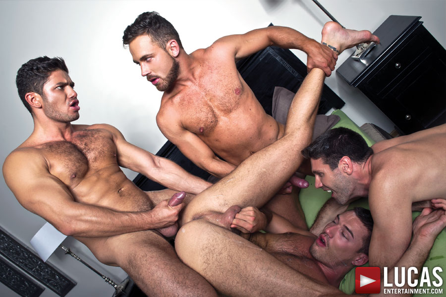 Raw Double Penetrations 02 - Gay Movies - Lucas Entertainment