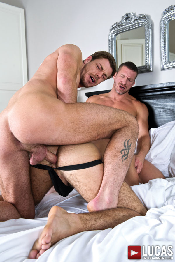 Alejandro Alvarez Takes Tomas Brand And Toby Dutch At Once - Gay Movies - Lucas Entertainment