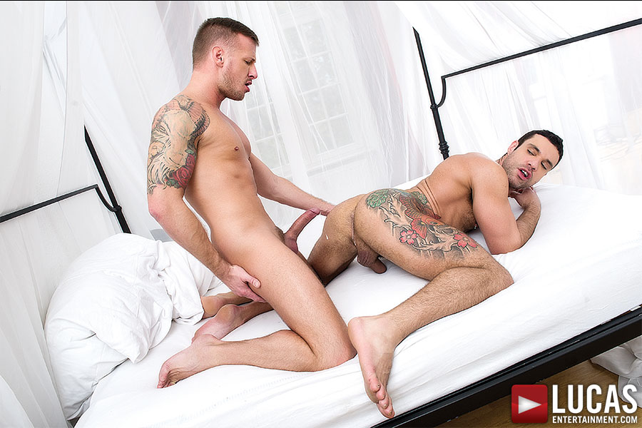 Logan Rogue And Letterio Amadeo Suck And Fuck Raw - Gay Movies - Lucas Entertainment