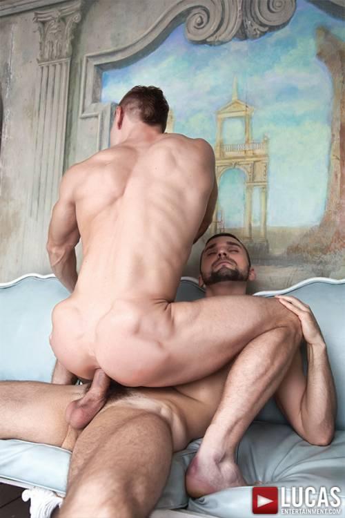 Comrad Blu Rides Adam Isaacs' Raw Uncut Cock - Gay Movies - Lucas Entertainment