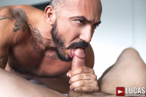 Alessio Romero Pounds Drew Sumrok Bareback - Gay Movies - Lucas Entertainment