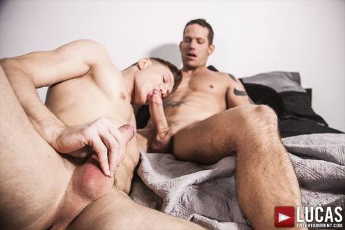 Shane Frost Flip-Fucks With Comrad Blu Bareback - Gay Movies - Lucas Entertainment