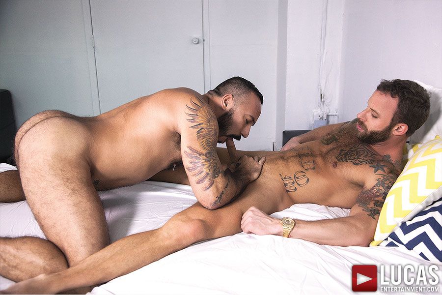 Alessio Romero And Derek Parker Fuck Each Other Raw - Gay Movies - Lucas Entertainment