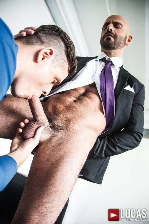 Adam Russo And Jed Athens Pound Each Other Raw - Gay Movies - Lucas Entertainment