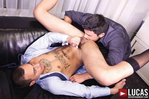 Rafael Carreras Fucks Rico Romero In The Ass Bareback - Gay Movies - Lucas Entertainment