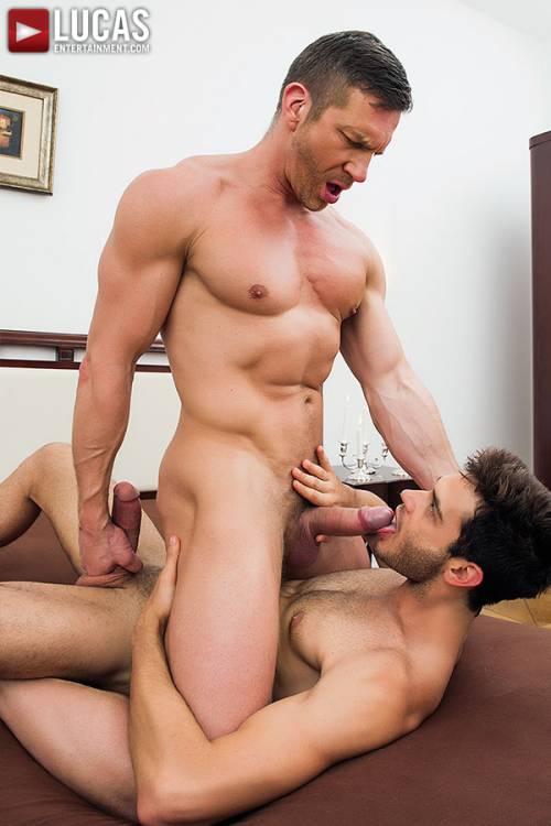 Leo Alexander's Debut Versatile Fuck With Tomas Brand - Gay Movies - Lucas Entertainment