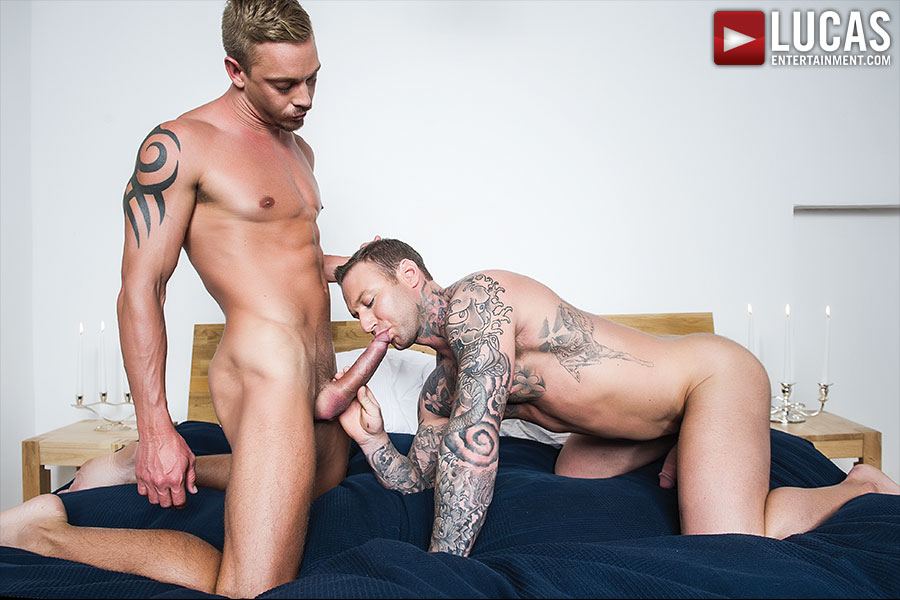 Michael Lachlan Returns To Suck And Fuck Raw With Dylan James - Gay Movies - Lucas Entertainment