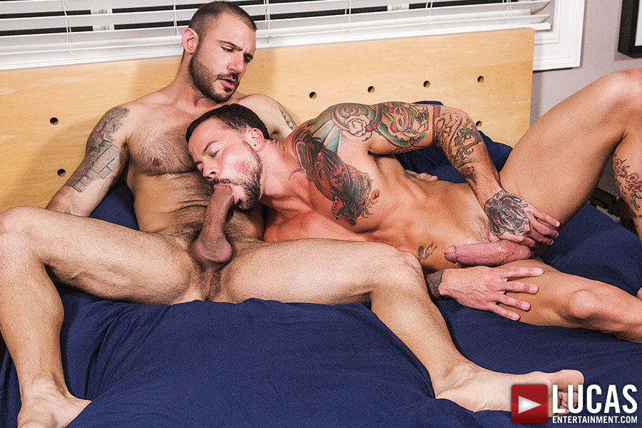 Sean Duran Barebacks On Camera For The First Time Ever - Gay Movies - Lucas Entertainment