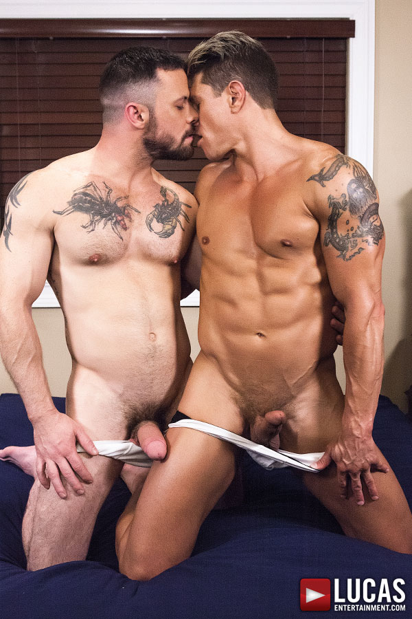 Sergeant Miles And Bryce Evans Take Turns Breeding Ass    - Gay Movies - Lucas Entertainment