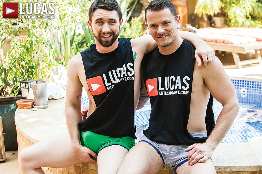 Poolside Barebackers - Gay Movies - Lucas Entertainment