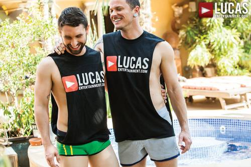 Max Cameron And Jackson Fillmore Shoot Their Raw Loads - Gay Movies - Lucas Entertainment