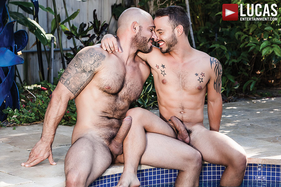 Rafael Lords Bottoms Bareback For Pedro Andreas - Gay Movies - Lucas Entertainment
