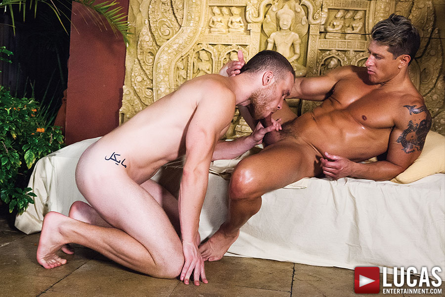 Jake Andrews And Bryce Evans Take Turns Flip-Fucking - Gay Movies - Lucas Entertainment