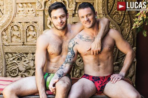 Max Cameron Rides Every Raw Inch Of Leo Alexander's Dick - Gay Movies - Lucas Entertainment
