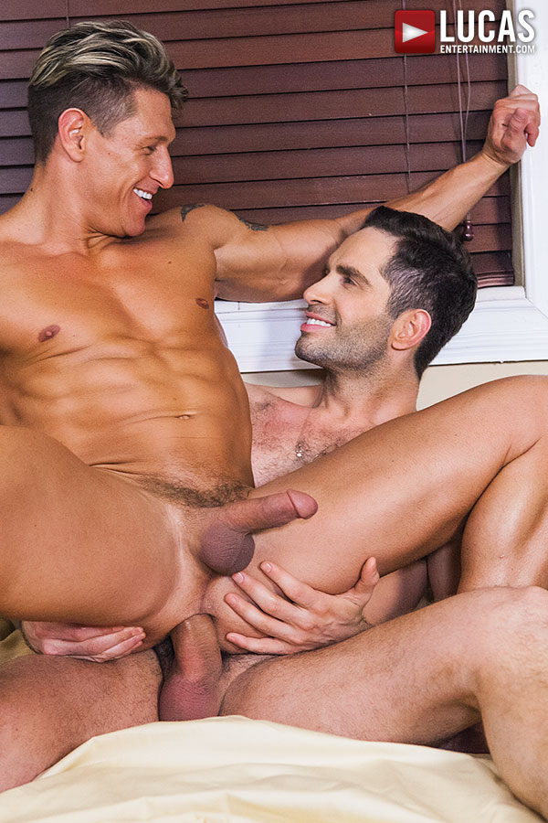Michael Lucas Fucks Bryce Evans Bareback - Gay Movies - Lucas Entertainment