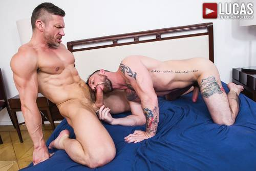 Tomas Brand And Sergeant Miles Work Up An Intense Sweat    - Gay Movies - Lucas Entertainment