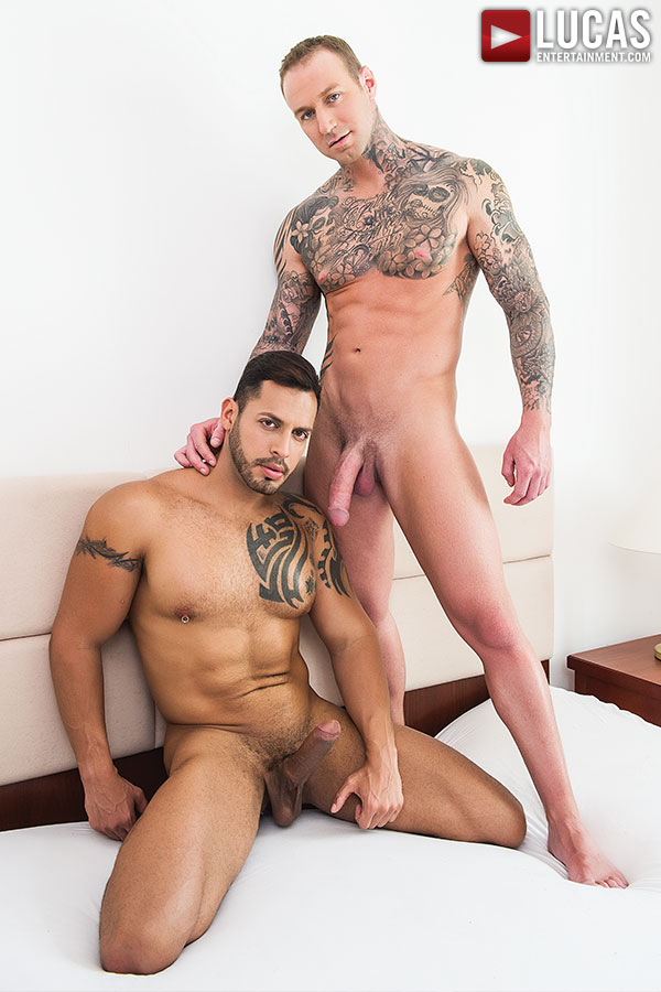 Viktor Rom Pounds Dylan James' Ass - Gay Movies - Lucas Entertainment