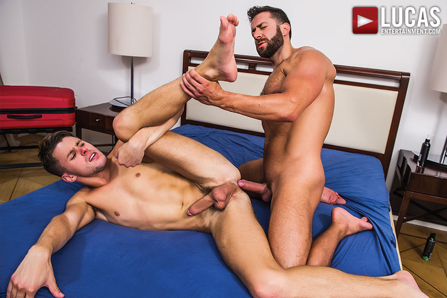 Valentino Medici Pounds Dmitry Osten Bareback - Gay Movies - Lucas Entertainment