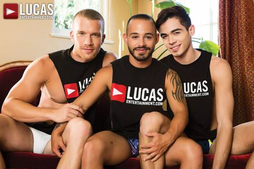 Jake Andrews Shares Rafael Lords With Ashton Summers - Gay Movies - Lucas Entertainment