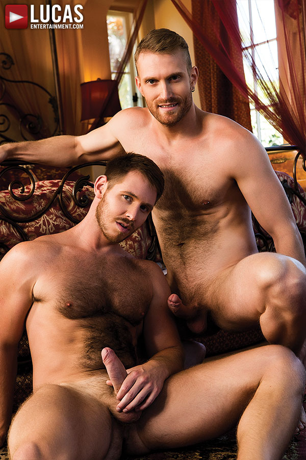 Evan Lance Gives Spencer Whitman His Raw Load - Gay Movies - Lucas Entertainment