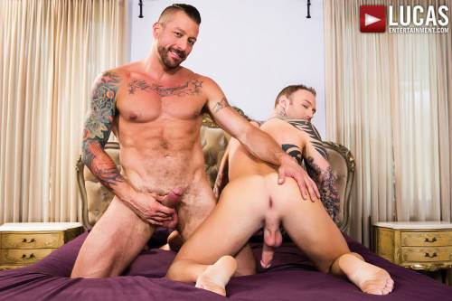 Dylan James And Hugh Hunter Fuck Rough And Raw    - Gay Movies - Lucas Entertainment