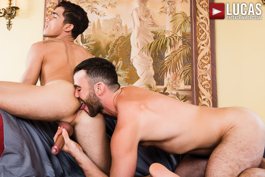 Alex Mason And Ashton Summers Flip-Fuck Bareback    - Gay Movies - Lucas Entertainment