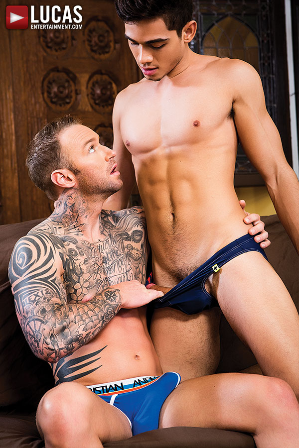 Alpha-Male Dylan James Gives His Ass To Ashton Summers - Gay Movies - Lucas Entertainment