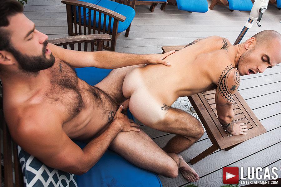 Xavier Jacobs Pounds Cam Christou Bareback - Gay Movies - Lucas Entertainment