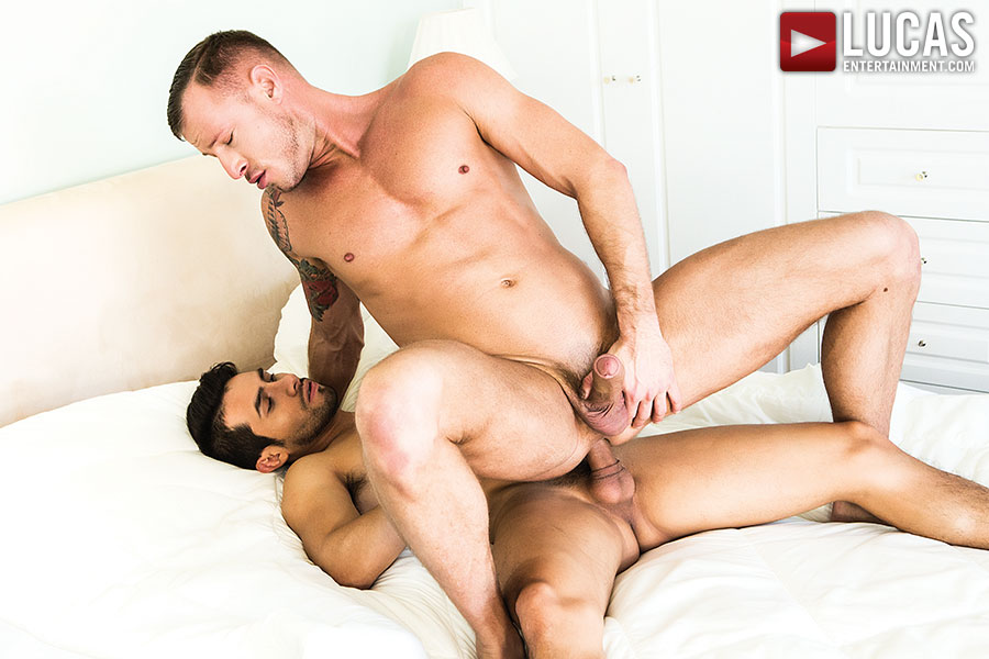 Derek Allan And Logan Rogue Flip Fuck - Gay Movies - Lucas Entertainment