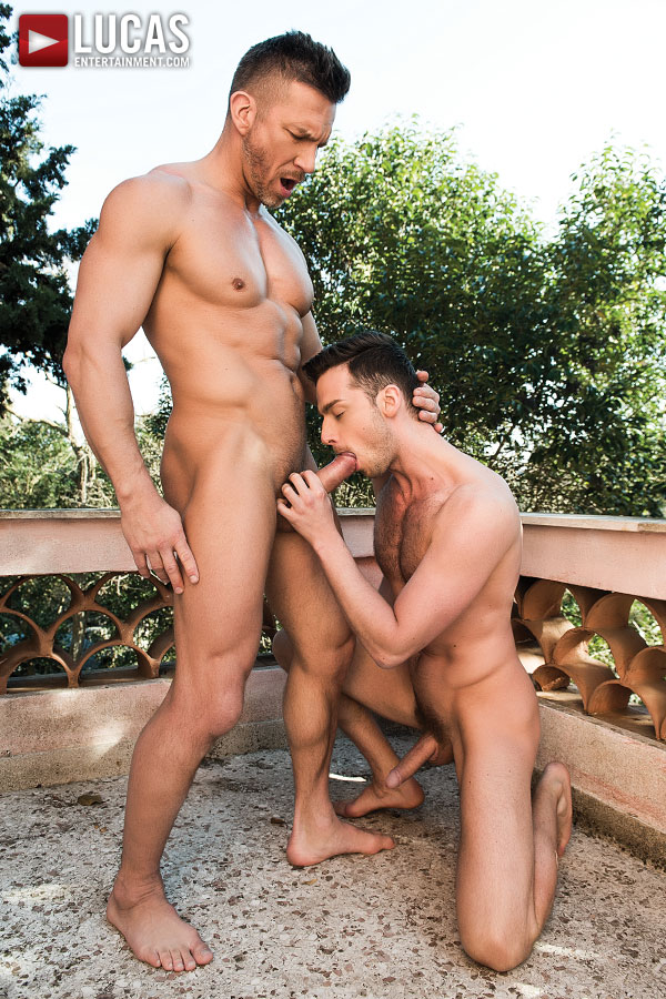 Damon Heart Takes Tomas Brand's Daddy Dick Up The Ass - Gay Movies - Lucas Entertainment