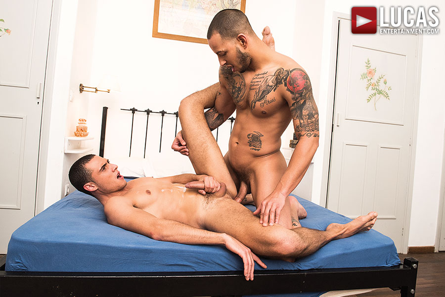 Giovanni Matrix Nutts In Javi Velaro's Butt - Gay Movies - Lucas Entertainment